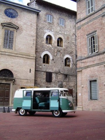 vw t1 hire in italy